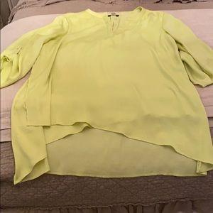 Renault Lime Silk top